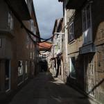 Shady streets of Pontevedra