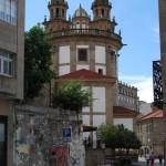 La Peregrina Church (view from the rear)