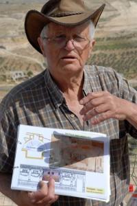 Archaeologist Ehud Netzer. (1934-2010)