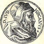 King John Hyrcanus I. Portrait from the collection of biographies Promptuarii Iconum Insigniorum (1553)