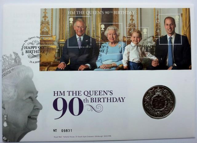 Коллекционный юбилейный набор от Королевской почты Великобритании. Из личной коллекции.