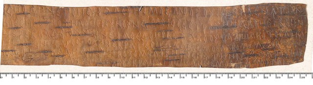 Birch Bark Letters of Old Novgorod