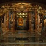 Apostle Peter's tomb. Vatican. Saint Peter's Basilica.