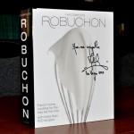 Автограф и пожелание от Жоэля Робюшона на поваренной книге. Из личной коллекции.